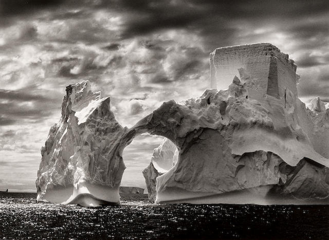 "Sebastião Salgado (born 1944); Antarctica (Iceberg, ""The Castle"");"