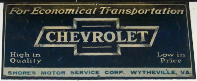 CHEVROLET FOR ECONOMICAL TRANSPORTATION,