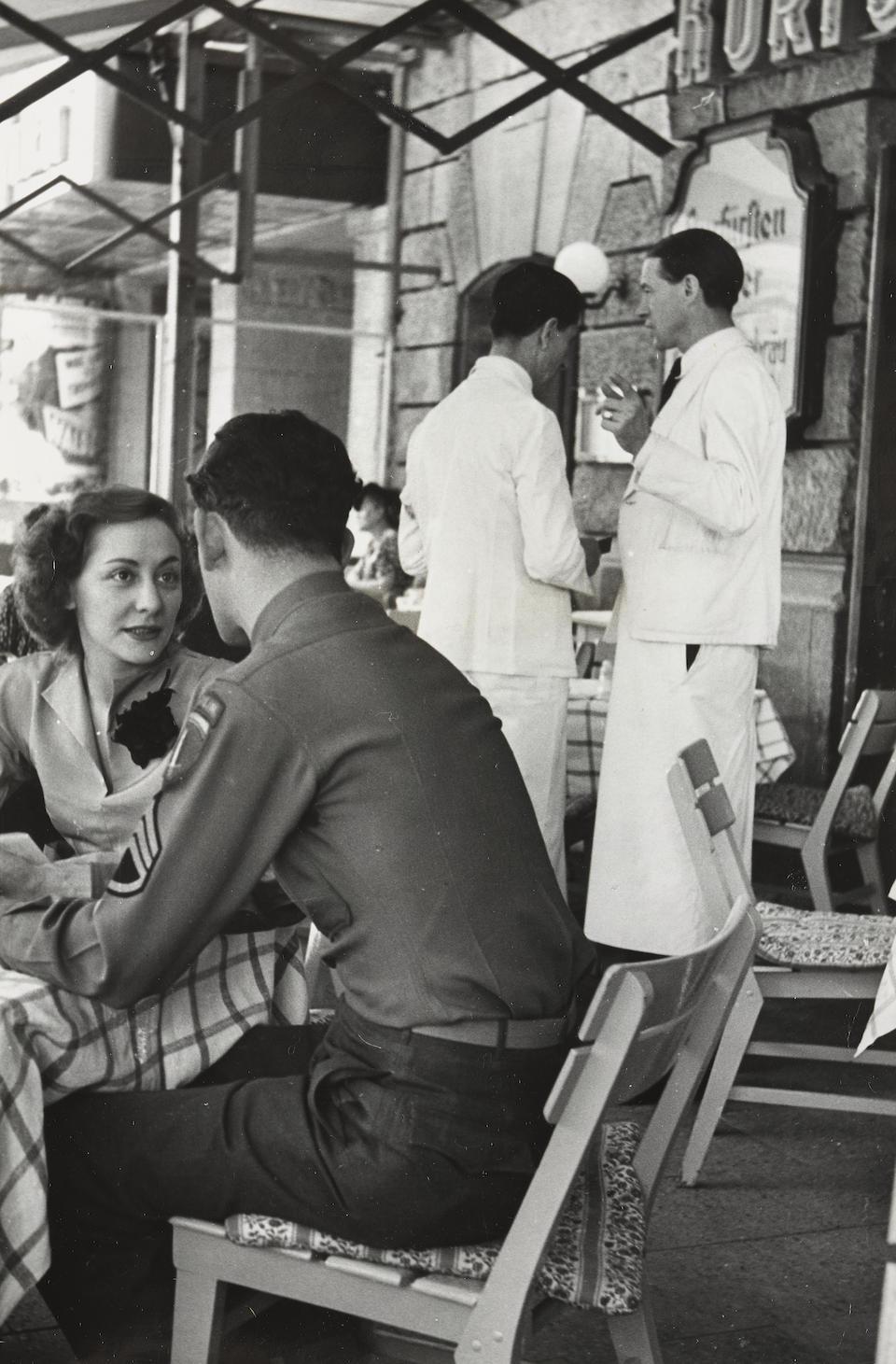 Henri Cartier-Bresson (1908-2004); London, Festival City; and Berlin, Europe's Strangest City; (2)