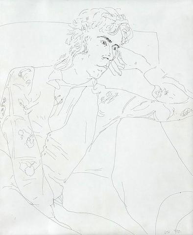 David Hockney (British, born 1937) Ossie, 1970