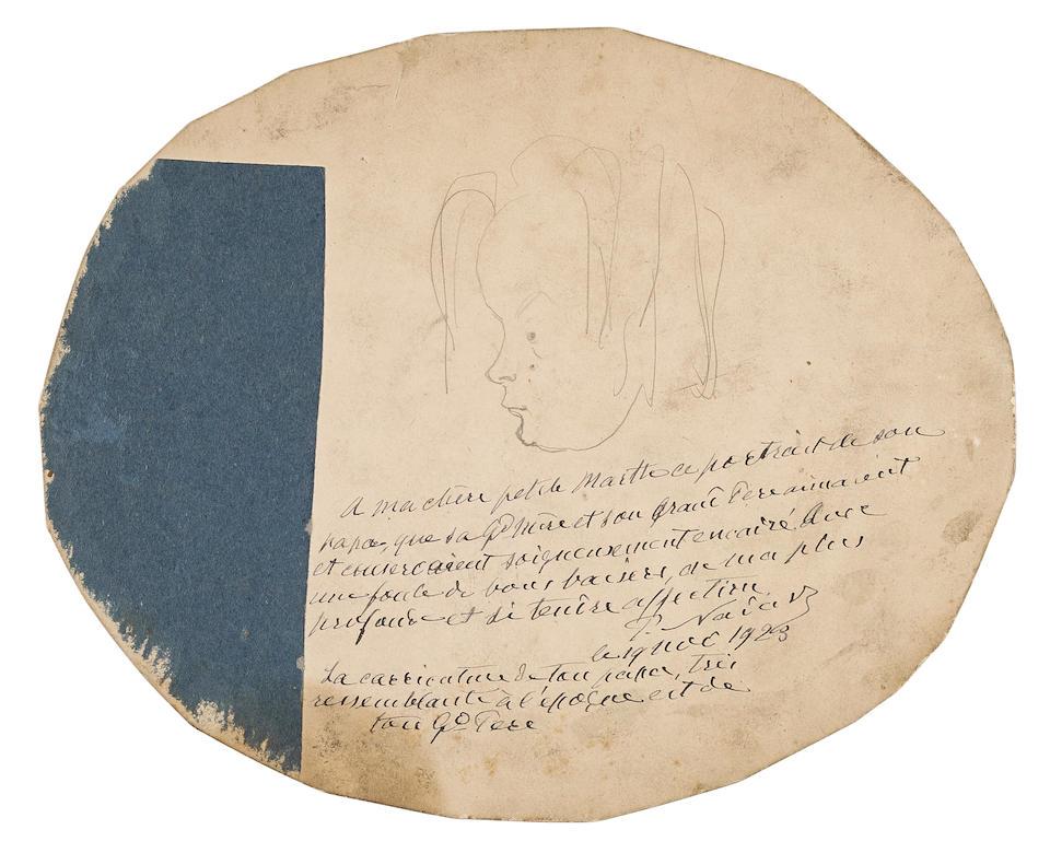 Nadar (Gaspard-Félix Tournachon) (1820-1910); Portrait of Paul;
