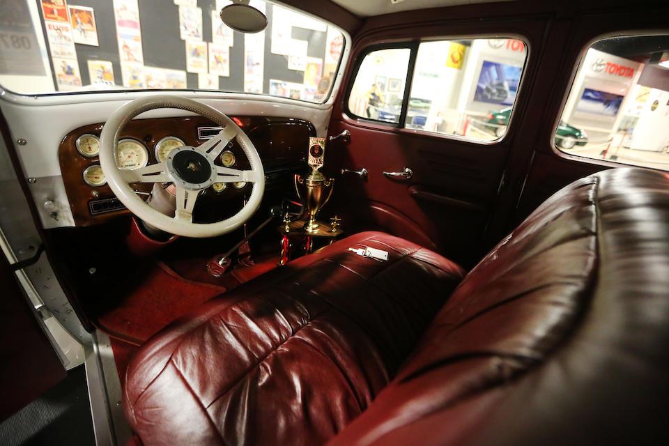 <b>1933 Pontiac Eight Four Door Sedan Custom</b><br />Chassis no. AG 388