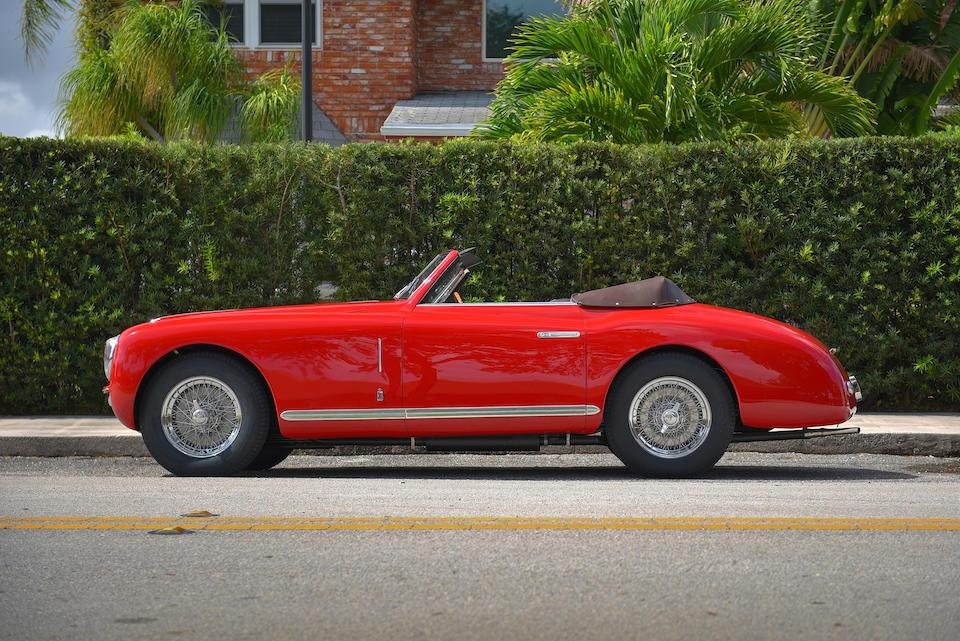 <b>1949 Alfa Romeo 6C 2500 Super Sport Cabriolet</b><br />Chassis no. 915811<br />Engine no. SS928114