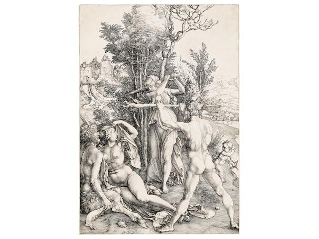Albrecht Dürer (1471-1528); Hercules at the Crossroads;