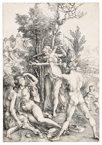Albrecht Dürer (1471-1528); Hercules at the Crossroads;