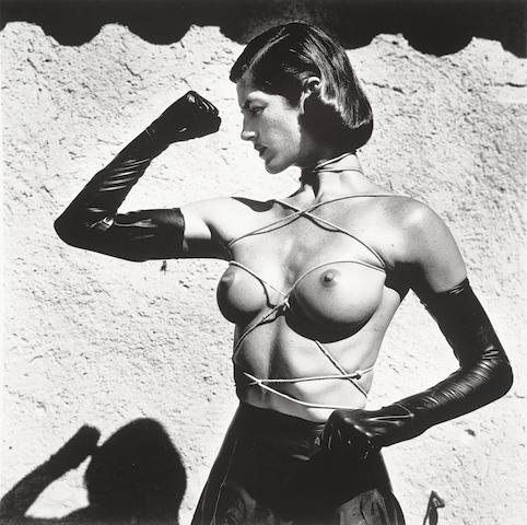 Helmut Newton (1920-2004); Tied-up Torso, Ramatuelle;
