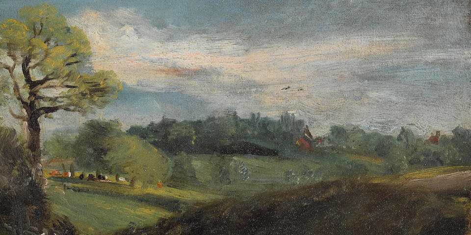John Constable R.A. (Suffolk 1776-1837 Hampstead) East Bergholt Common