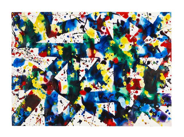 Sam  Francis (1923-1994) Untitled, 1978