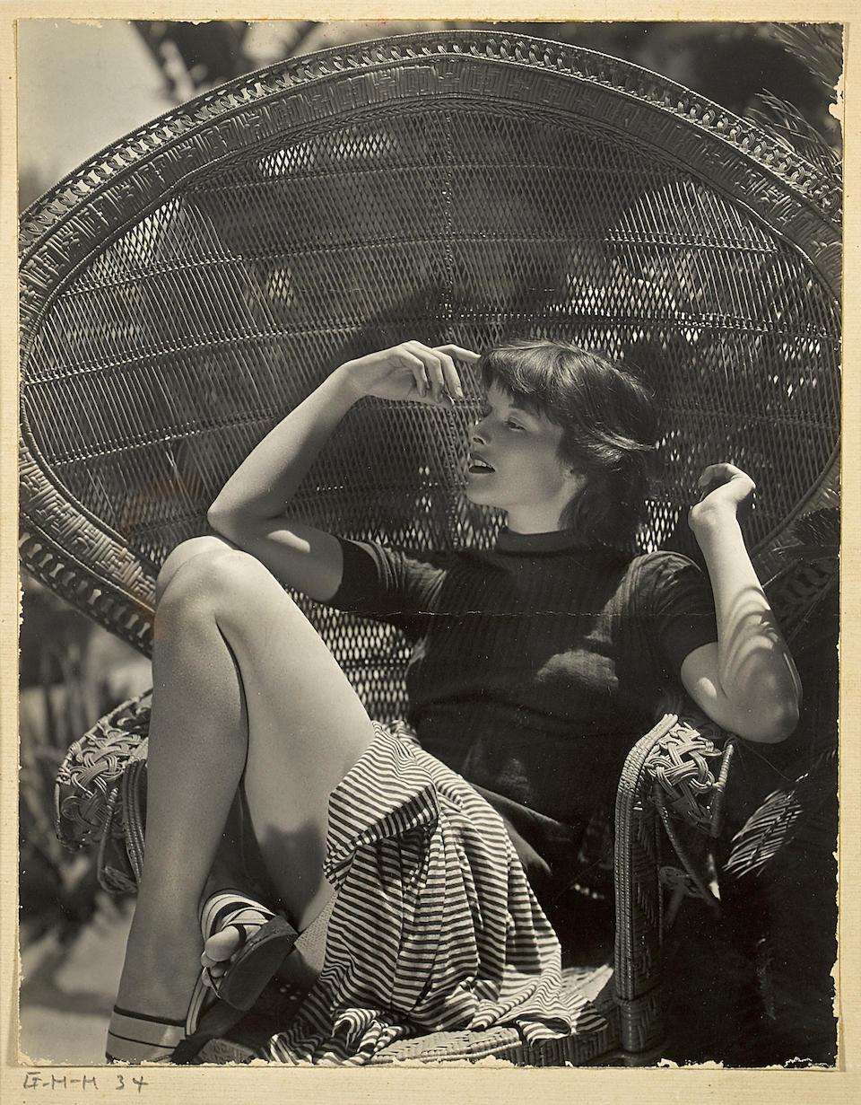 A Katharine Hepburn group of portraits by George Hoyningen-Huene