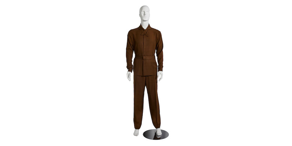 A Walter Pidgeon costume from Forbidden Planet, also worn in Queen of Outer Space