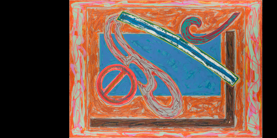 Frank Stella (born 1936); Bonin Night Heron;