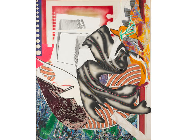 Frank Stella (born 1936); Moby Dick, from The Waves;