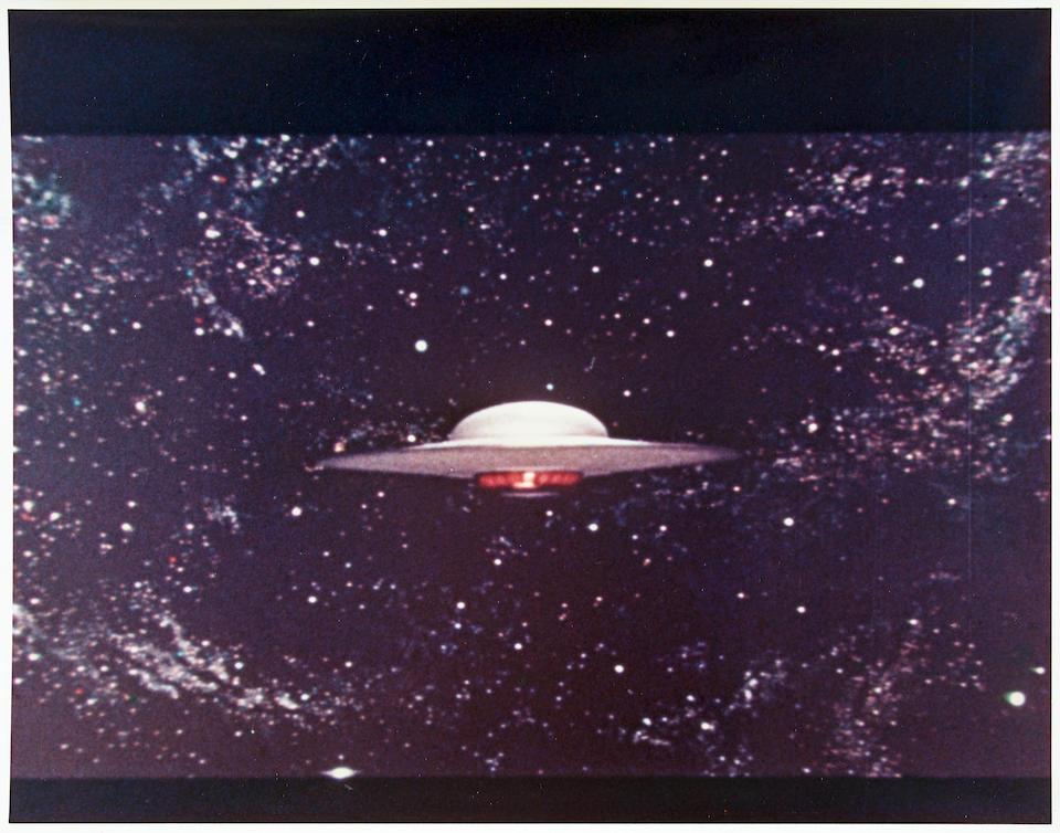 A Forbidden Planet prop United Planets Cruiser C-57D