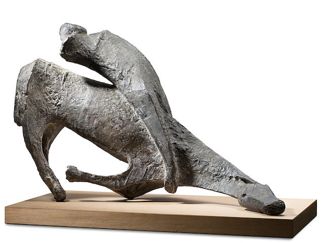MARINO MARINI (1901-1980) Studio per Miracolo 43 1/3 in (110 cm) (length) (Conceived and cast in 1953-54)