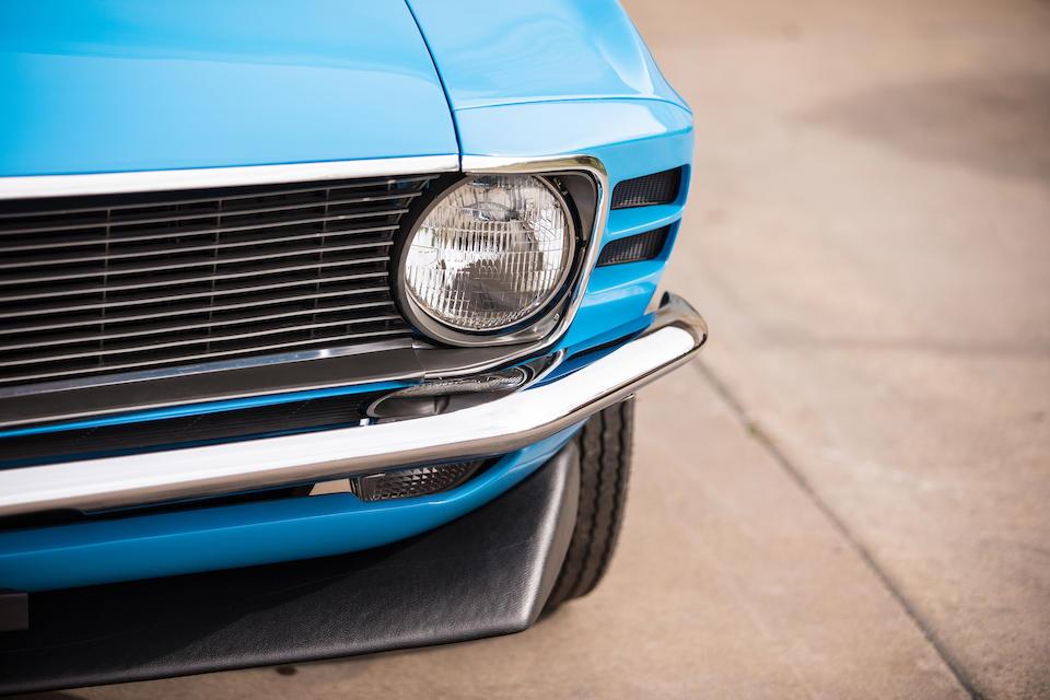 "<b>1970 Ford Mustang ""Boss 429"" Fastback</b><br />Chassis no. 0F02Z141288<br />Kar Kraft no. KK2481"