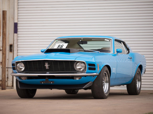 "<b>1970 Ford Mustang ""Boss 429"" Fastback</b><br />Chassis no. 0F02Z141288<br />Kar Kraft no. KK2481"