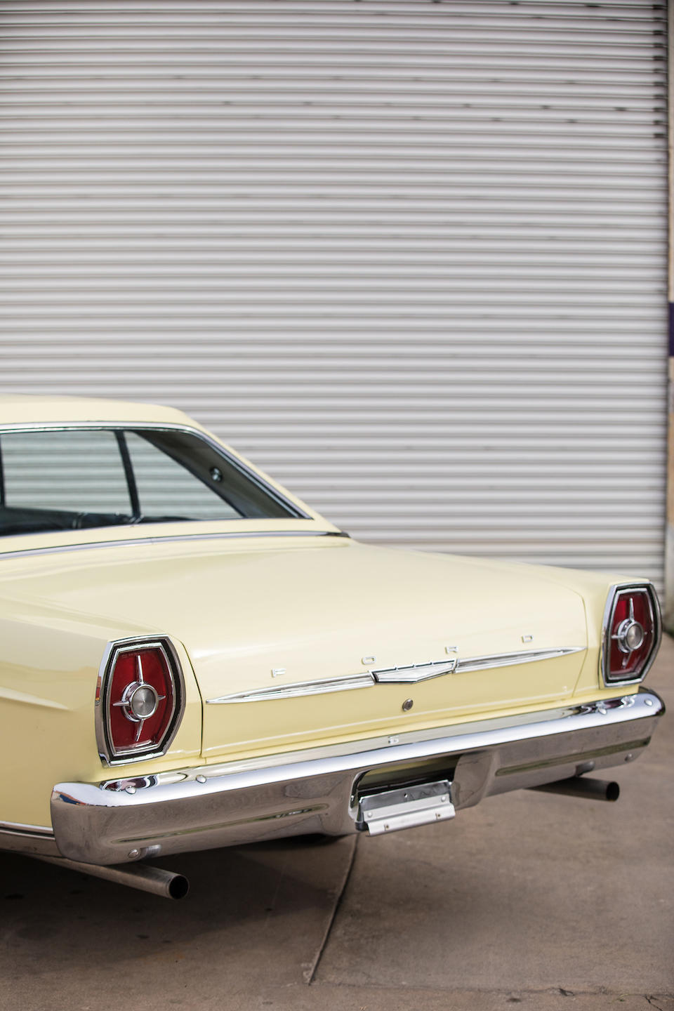 """<b>1965 Ford Galaxie 500 M-Code """"Cammer"""" 2-Door Hardtop</b><br />Chassis no. 5F66M100016"""