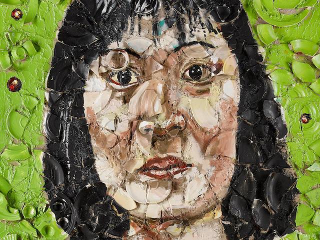 Julian Schnabel (American, born 1951) Winnie Fung, 1989