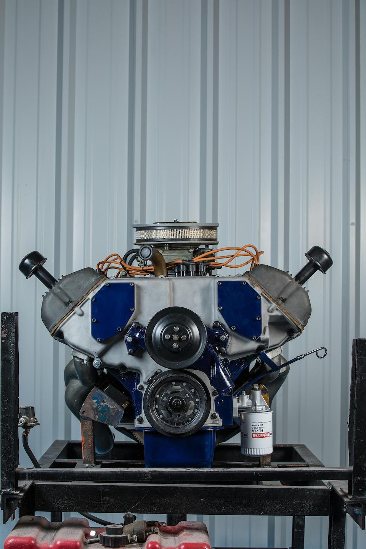 <b>1967 Ford 427ci SOHC V8 Engine</b><br />Engine no. 003