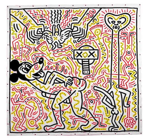 Keith Haring (American, 1958-1990) Untitled, 1983