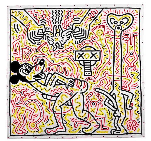 Bonhams : Keith Haring (American, 1958-1990) Untitled, 1983