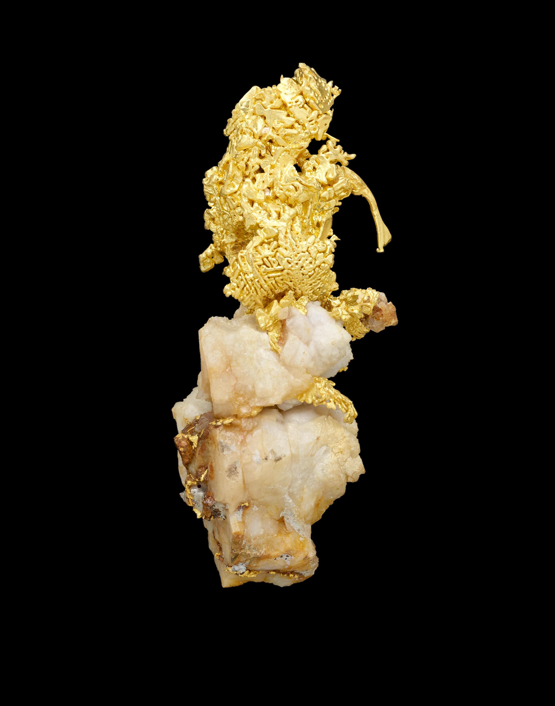 California Crystallized Gold-in-Quartz