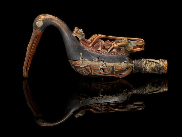 An early and exceptional Tlingit rattle