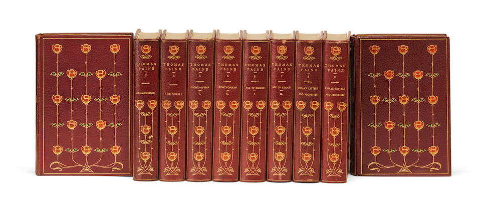 PAINE, THOMAS. 1737-1809. Life and Writings of Thomas Paine. New York: Vincent Parke, 1908.