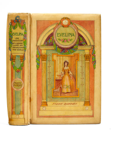 CHIVERS OF BATH. BURNEY, FANNY. 1752-1840. THOMSON, HUGH. 1860-1920.  Evelina, or The History of a Young Lady's Entrance Into the World.  London: MacMillan and Co., 1903.