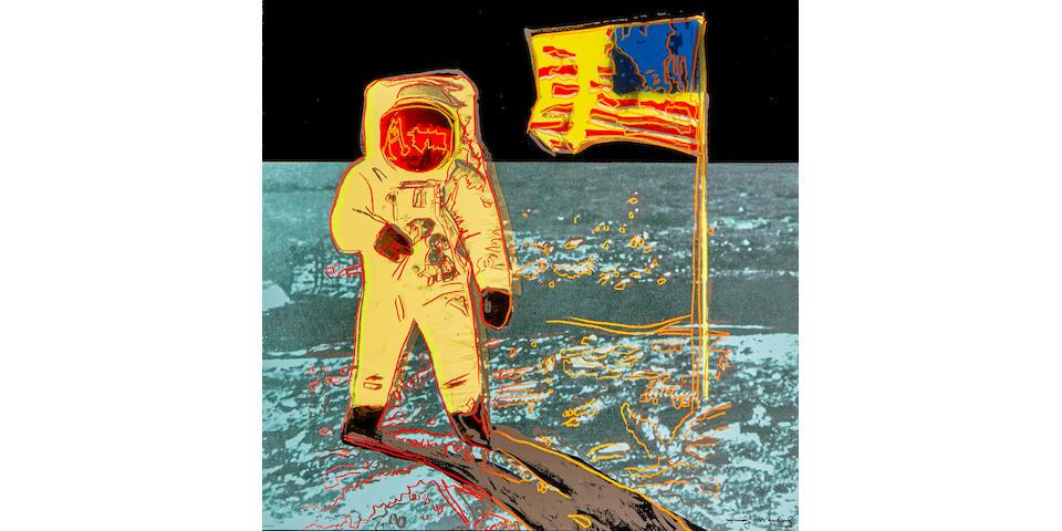 Andy Warhol (1928-1987); Moonwalk;