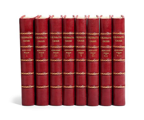 DUMAS, ALEXANDRE. 1802-1870. Celebrated Crimes. Philadelphia: George Barrie, 1895.