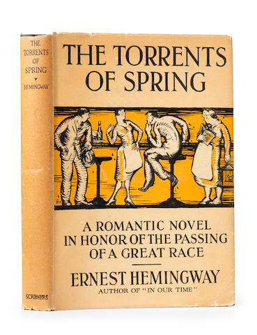 HEMINGWAY, ERNEST. 1899-1961. The Torrents of Spring. New York: Charles Scribner's Sons,1926.
