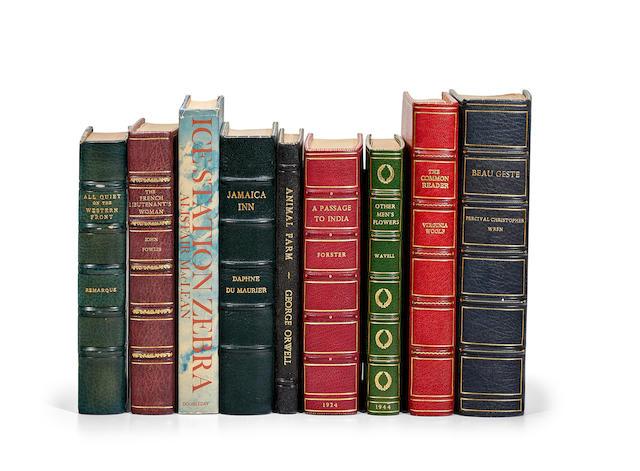 MODERN EUROPEAN LITERATURE. 9 items:
