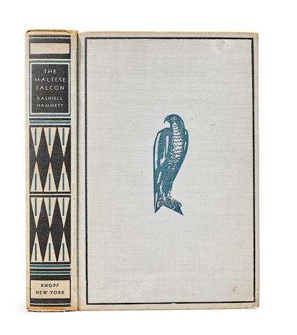HAMMETT, DASHIEL. 1894-1961. The Maltese Falcon.  New York: Knopf, 1930.