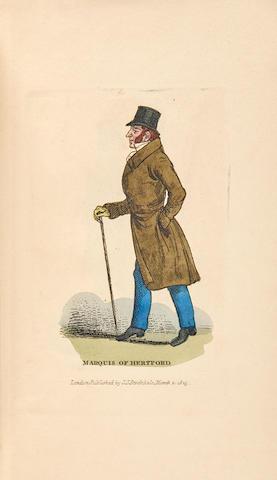WILSON, HARRIETTE. 1786-1845. Memoirs of Harriette Wilson. London: J.J. Stockdale, 1825.