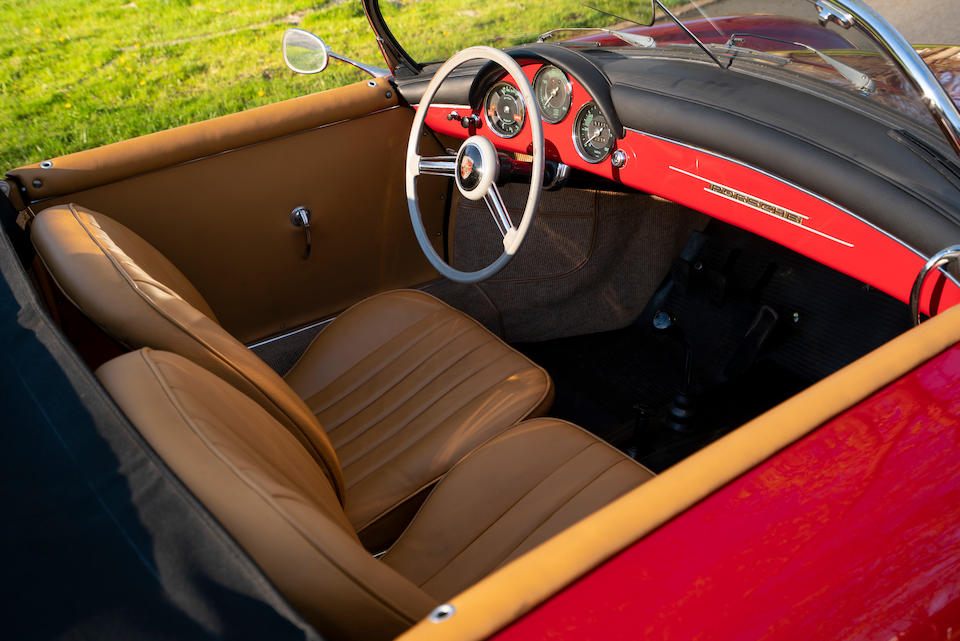 <b>1957 Porsche 356A 1600 Speedster</b><br />Chassis no. 83376<br />Engine no. P*65734