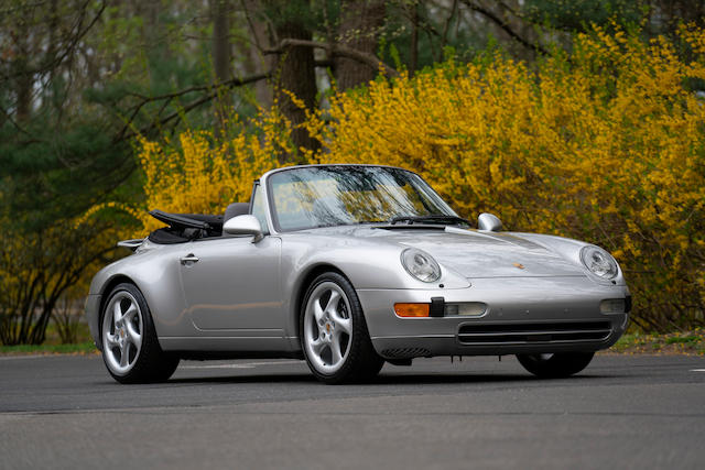<b>1998 Porsche 911 (993) Carrera 2 Cabriolet</b><br />VIN. WP0CA2995WS340152<br />Engine no. 61W00689