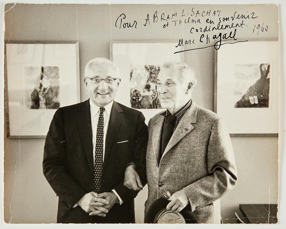 CHAGALL, MARC. 1887-1985. Marc Chagall.  New York: Frederick A. Praeger, [1957].