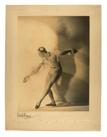 Perinchief, Violet Keene. 1893-1967. Original photograph, Serge Lifar. The Genius of the Dance,