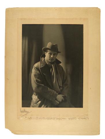 Perinchief, Violet Keene. 1893-1967. Original photograph, Aldous Huxley,