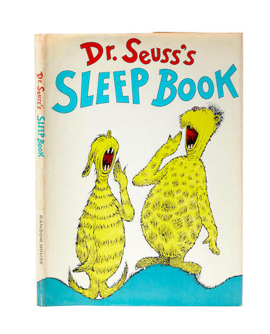 SEUSS, DR. (THEODORE GEISEL). 1904-1991. Dr. Seuss's Sleep Book. New York: Random House, (1962).