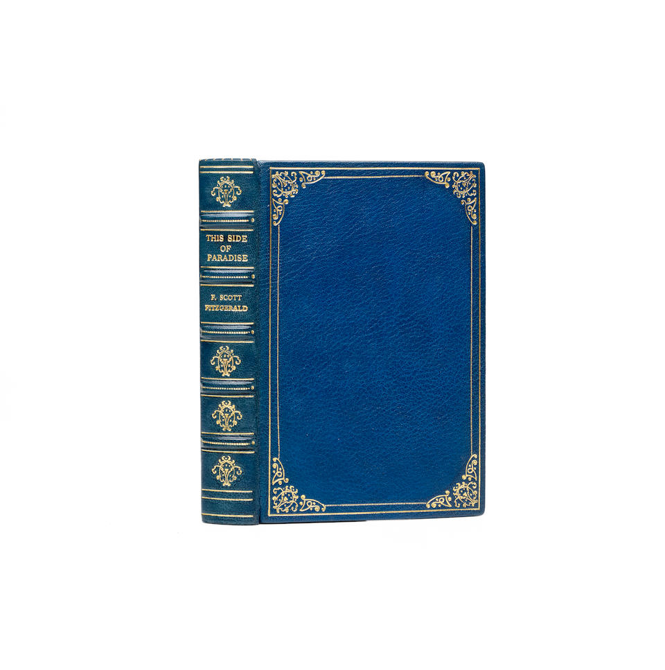 FITZGERALD, F. SCOTT. 1896-1940. This Side of Paradise. New York: Charles Scribner's Sons, 1920.