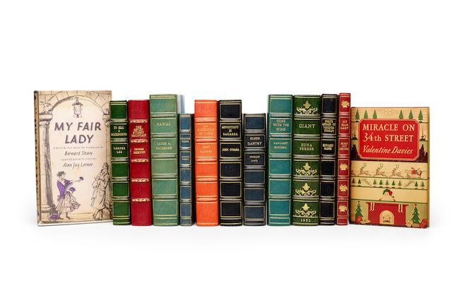 TWENTIETH CENTURY AMERICAN LITERATURE. 13 titles finely bound, comprising: