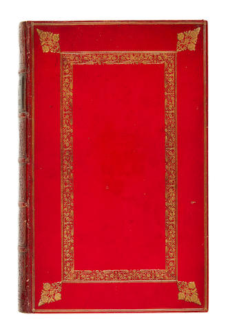 BINDINGS. Group lot of miscellaneous books in fine or decorative bindings, including: