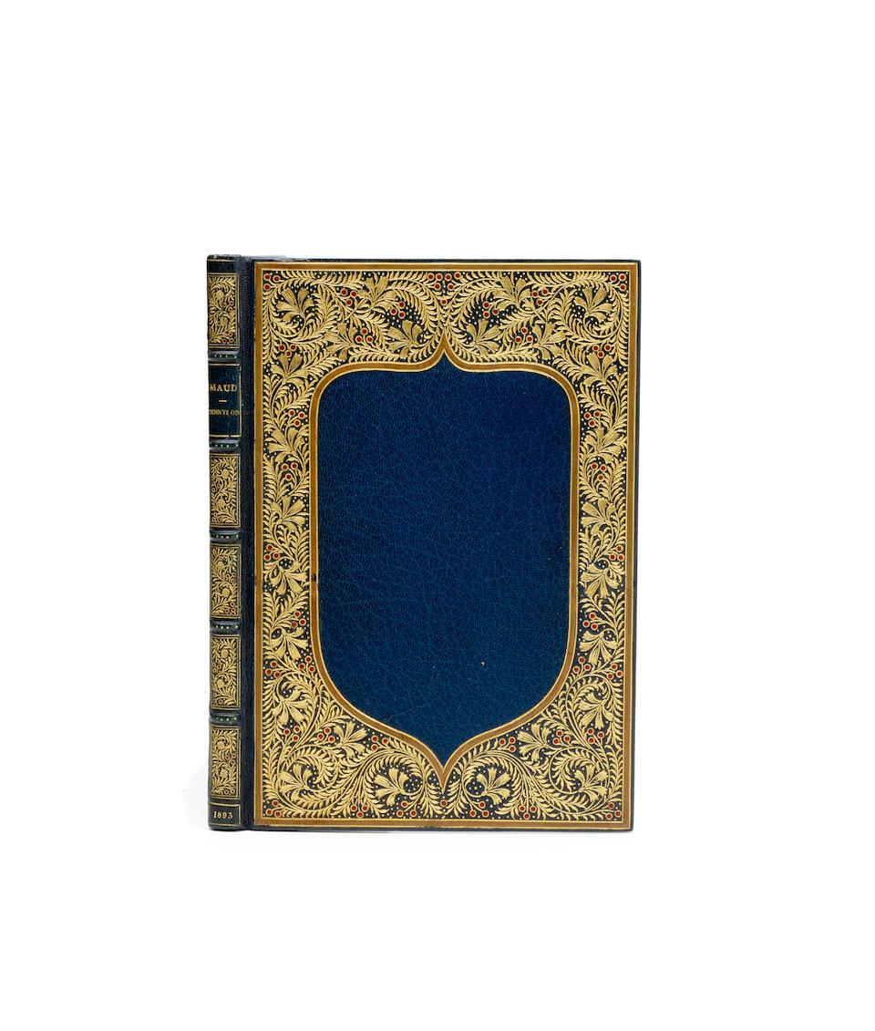 KELMSCOTT PRESS. TENNYSON, ALFRED, LORD. 1809-1892. Maud. A Monodrama. London: Hammersmith, 1893 .