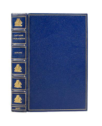 KIPLING, RUDYARD. 1865-1936. Captains Courageous: A Story of the Grand Banks. London: Macmillan & Company, 1897.