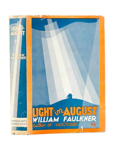 FAULKNER, WILLIAM. 1897-1962. Light in August. [New York]: Harrison Smith & Robert Hass, [1932].
