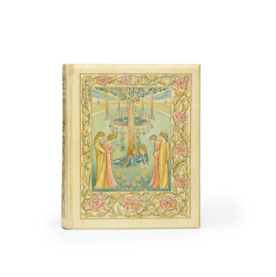 BEARDSLEY, AUBREY. 1872-1898. MALORY, THOMAS. 1415-1471. The Birth, Life, and Acts of King Arthur. [London: J.M. Dent], 1893-94.