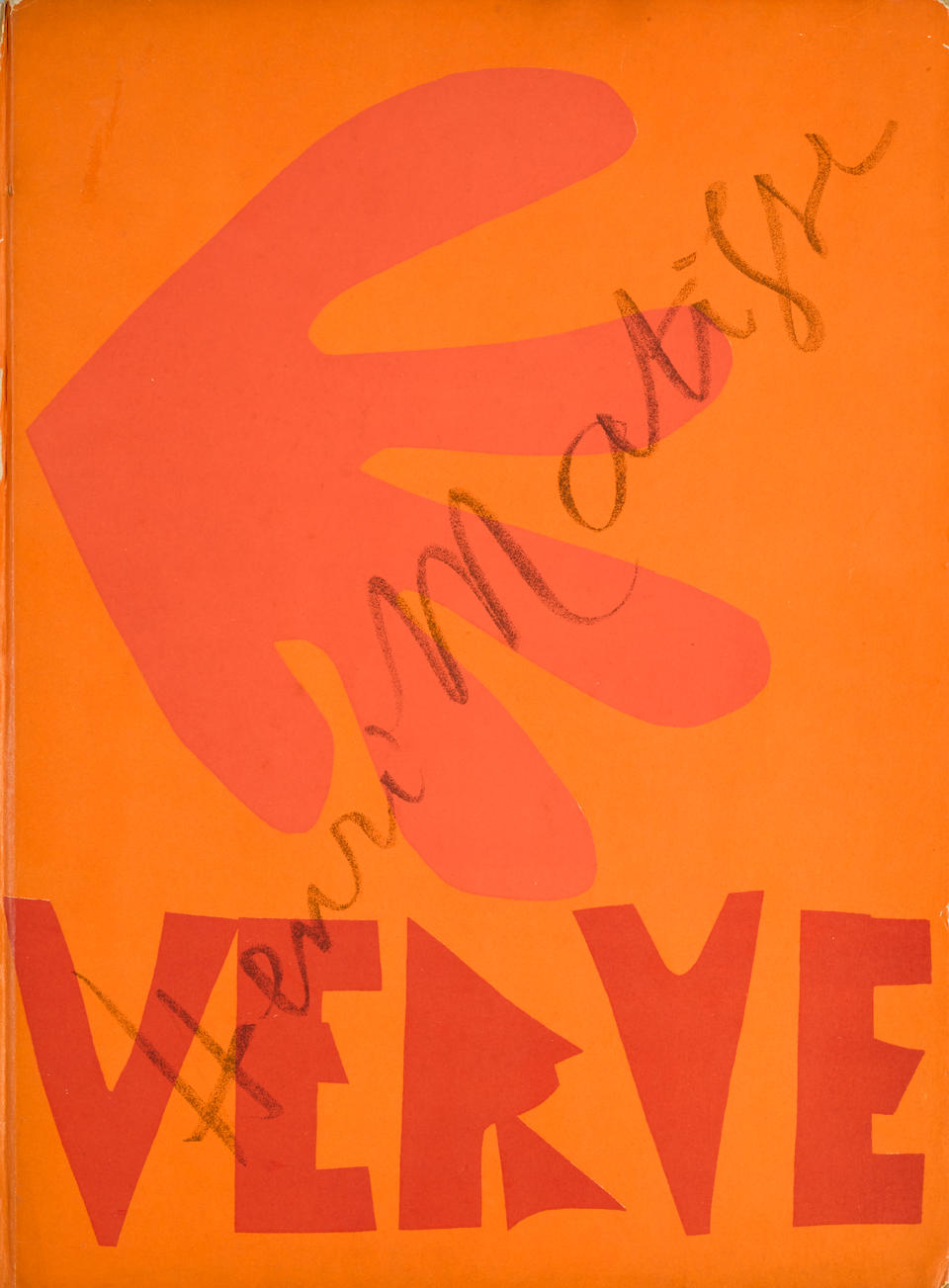 MATISSE, HENRI. 1869-1954. The Last Works of Matisse 1950-1954. New York: Harcourt, Brace & Co., [1958.]