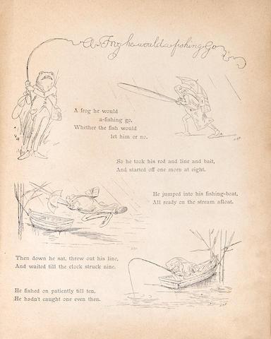 POTTER, BEATRIX. 1866-1943. 2 titles: